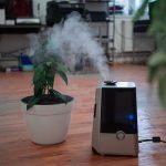 why is my vicks humidifier producing mist?